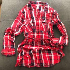 Tops - Maternity Flannel